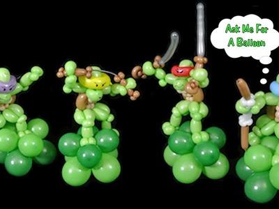 Cool Turtle Balloon - Balloon Animal - Decoration