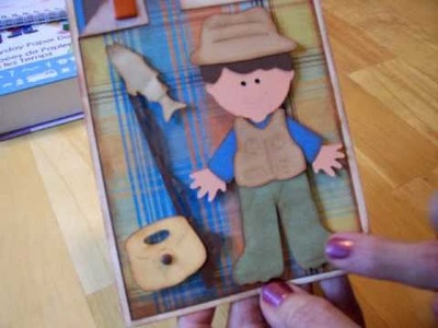 Cricut Everyday Paper Dolls Birthday Card