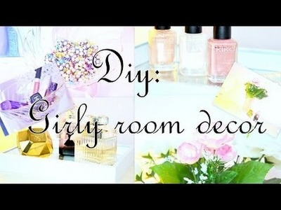 ♡ DIY: 3 ideas for a girly room ♡