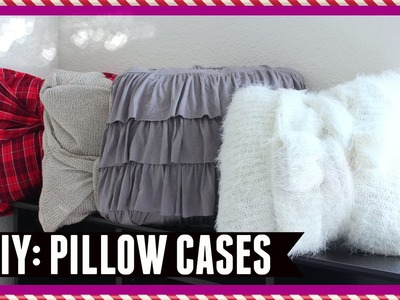 DIY: Clothes to Pillowcase (No Sew) Clothing Hack