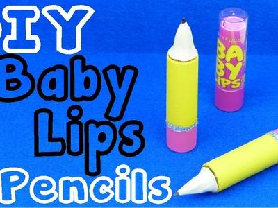 DIY Crafts: Baby Lips Lip Balm Pencil