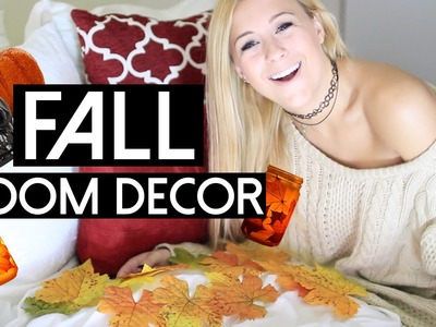 DIY Fall Room Decor! Easy Ways To Decorate!