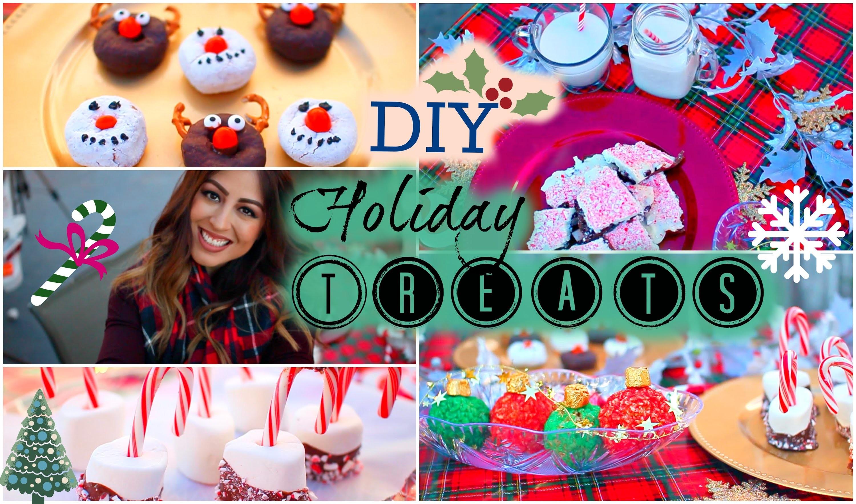 DIY Holiday + Christmas Treats (Easy + Cute)