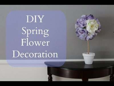DIY Inexpensive Spring Flower Decoration
