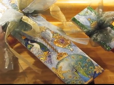 DIY Special Gift Wrap Box Decoupage All occasion