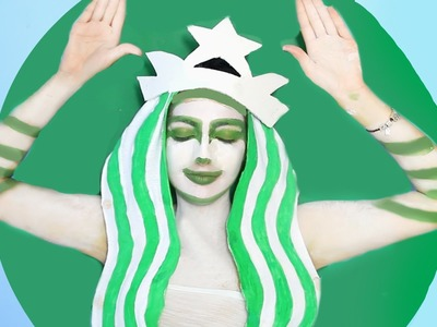 DIY Starbucks Halloween Costume!