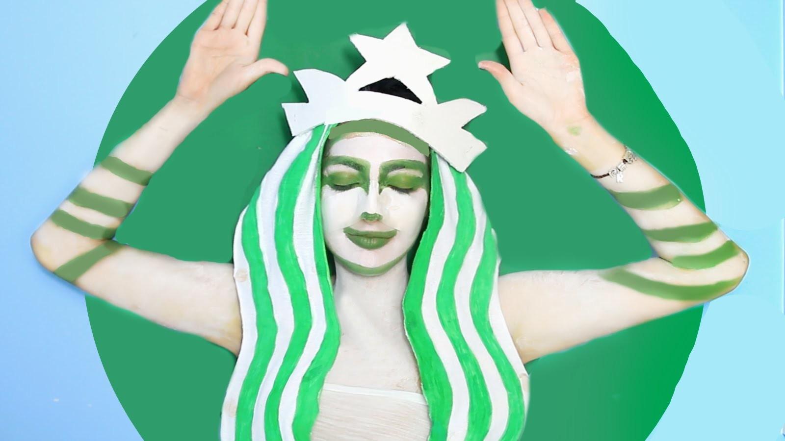 DIY Starbucks Halloween Costume!