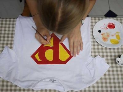 DIY Superman top
