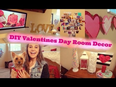 DIY Valentines Day Room Decor