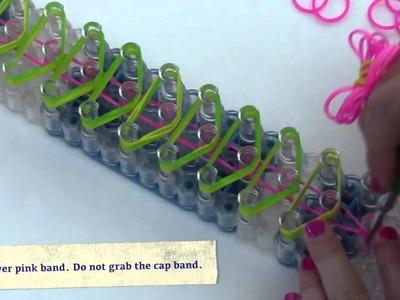 Fluffy Bracelet Rainbow Loom Tutorial