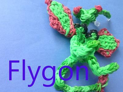 Flygon Pokemon - Rainbow Loom Charms