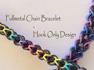 Fullmetal Chain Bracelet - Hook Only Design