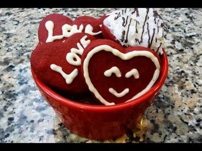 Galletas para San Valentin Receta Regalo perfecto y facil!