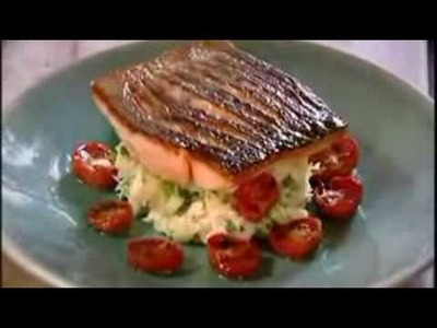 Gordon Ramsay's Crispy Salmon Recipe (Low Res Version)