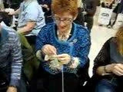 Guinness Book of World Records -- World's Fastest Knitter