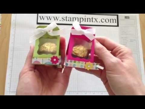 How to Create a Candy. Treat Holder