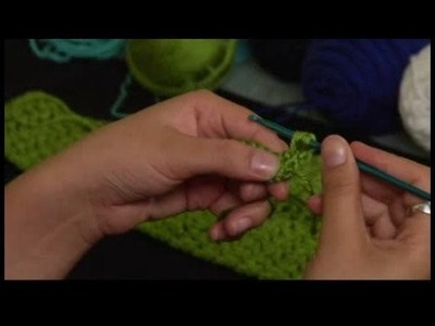 How to Crochet a Scarf : Starting Row 2 of Crochet Scarf