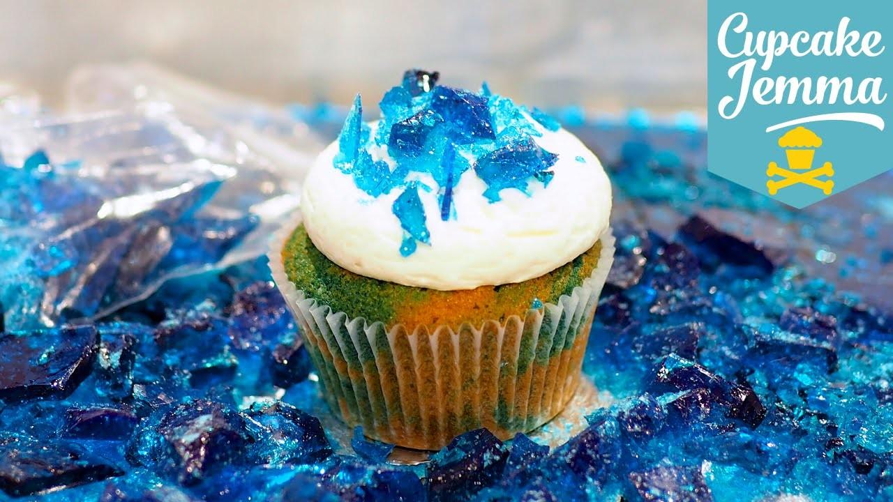 How to Make Breaking Bad Blue Magic Cupcakes | Cupcake Jemma