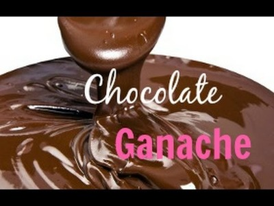 How to Make Chocoate Ganache For Cake Decorating - CAKE STYLE
