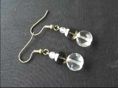 How to Make Jewelry : How to Make Wire Jewelry Earrings