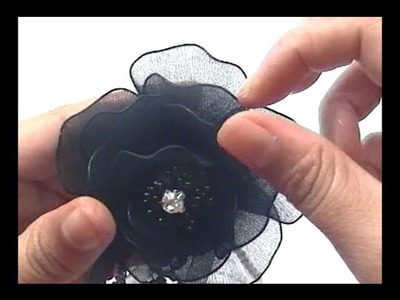 How to Make Nylon Stocking Boutonniere
