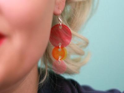 How To Make Venn Dangle Earrings
