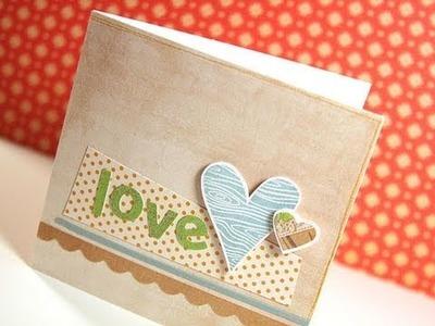 Love - Make a Card Monday #129