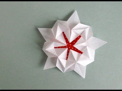 Origami Sakura Star -Estrella Pentagonal