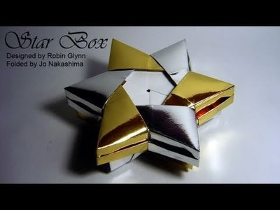 Origami Star Box (Robin Glynn) - Part 1.2 (Base)