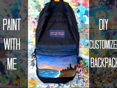 Paint with Me: DIY Customized Backpack