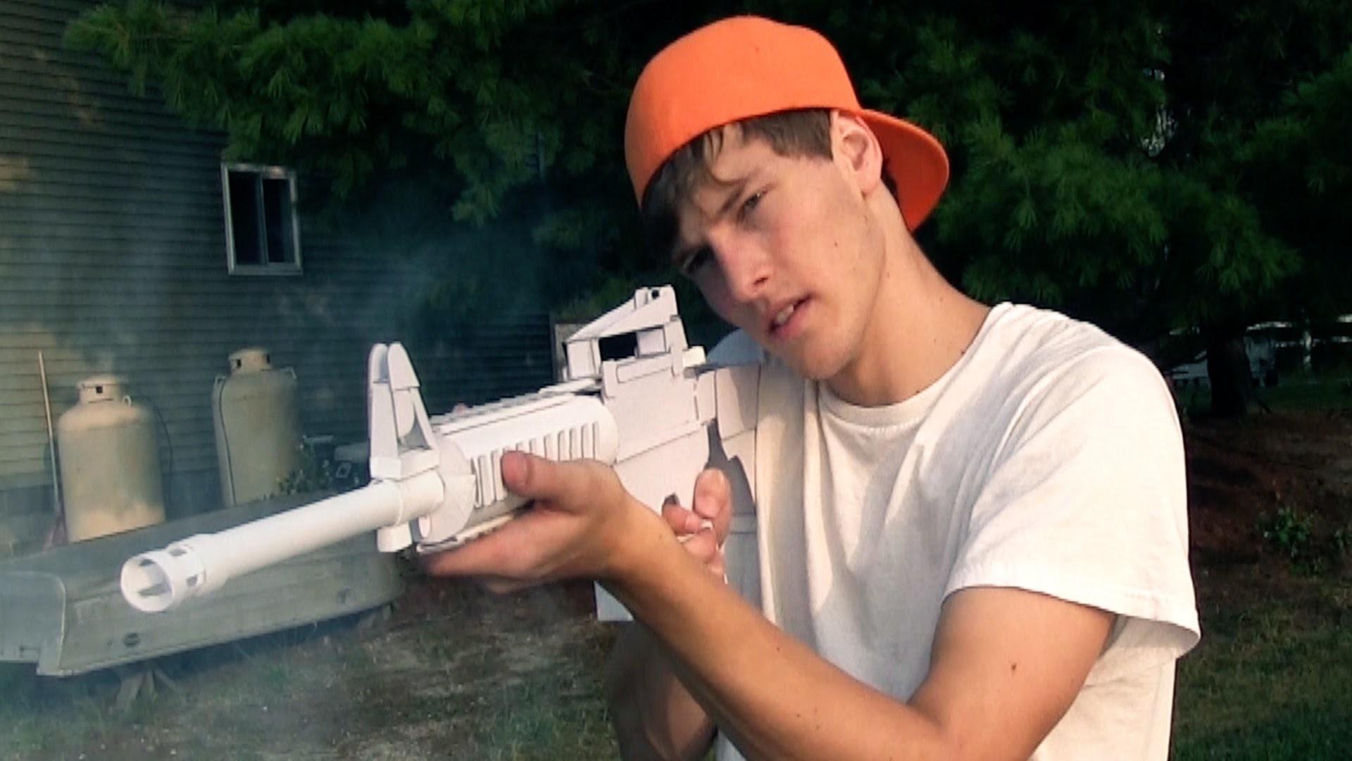 Paper Gun Warfare