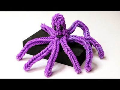 Rainbow Loom English - OCTOPUS - Loom Bands, easy, how to, DIY