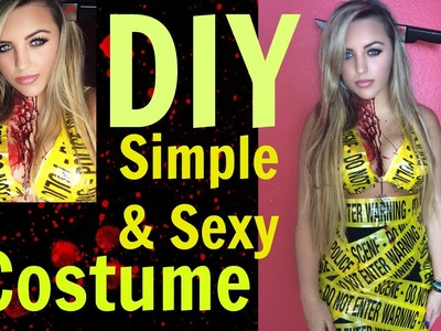 Sexy & Simple DIY Halloween Costume