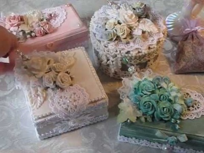 Shabby Chic Altered Box Project Share #1