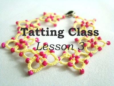 Tatting Class - Lesson 3