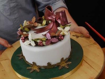 Traditional Christmas Cake - Cake Decorating with Paul Bradford