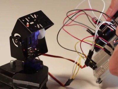 1.2 DIY Arduino Camera Pan.Tilt Stabilizer with Accelerometer