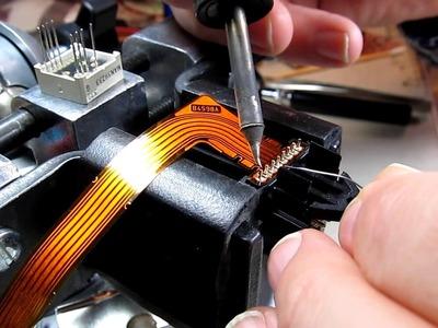 #127: Repair Log, Part 2: Icom IC-706MkIIG flex circuit replacement - DIY repair