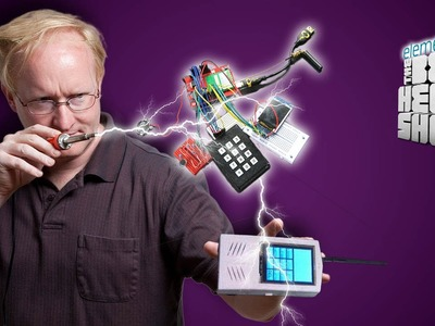 Ben Heck's DIY Cell Phone Part 1