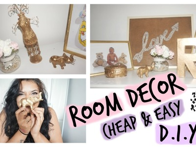 Cheap, Easy & Quick DIY Bedroom DECOR! +GIVEAWAY WINNER