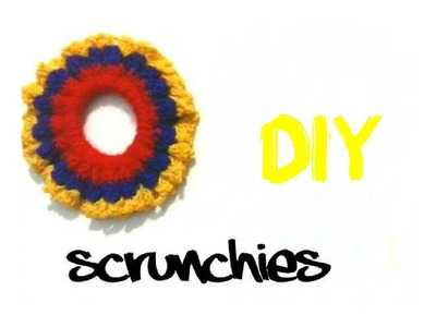 CROCHET  SCRUNCHIE, STYLE, FASHION + DIY ♥ !
