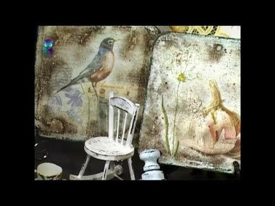 Decoupage. Create things in Provence style. Diy. Handmade