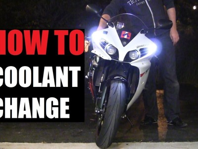 DIY: 09-14 Yamaha YZF-R1 Coolant Change Step By Step. How to Change Coolant on Motorcycle Yamaha R1