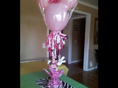 DIY Balloon Center Pieces