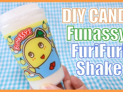 DIY CANDY! Funassyi Furi Furi Shake