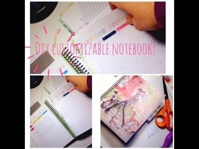 DIY Customizeable Spiral Notebook!