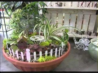 DIY Decorating ideas for Fairy garden