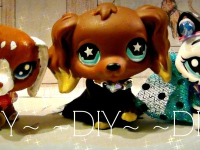 *DIY* Easy Lps Dress, Shirt, & Raincoat (NO SEW)