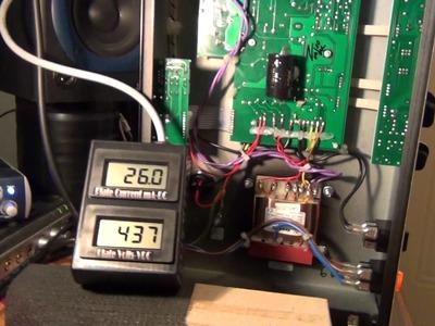 DIY Engl E650 Blackmore amp bias adjustment. By Calgaz77