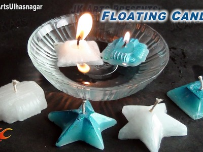 DIY  Floating Candles |  How to make | JK Arts 686